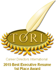 Best Resume Writer Toronto - 1st Place Award - International Competition